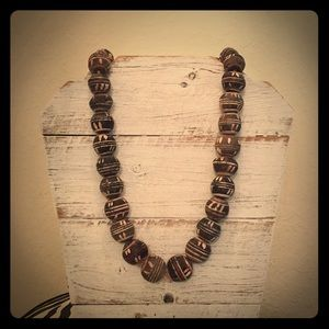Gorgeous Antique Tribal Bead Necklace